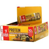 Caveman Foods, Protein Bar, Chocolate Almond Butter, 12 Bars, 1.52 oz (43 g) Each