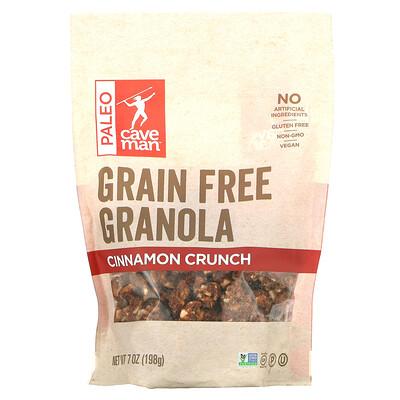 Caveman Foods Grain Free Granola, Cinnamon Crunch, 7 oz (198 g)
