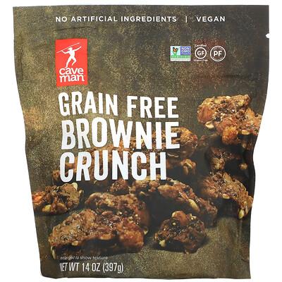 Caveman Foods Grain Free Brownie Crunch, 14 oz ( 397 g)