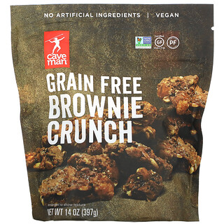Caveman Foods, Grain Free Brownie Crunch, 14 oz ( 397 g)