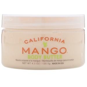 California Mango, Body Butter, 4.3 oz (120.5 g) отзывы