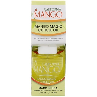 California Mango, Mango Magic Cuticle Oil, 0.5 fl oz (15 ml)