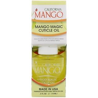 California Mango, 망고 매직 큐티클 오일, 0.5 fl oz (15 ml)