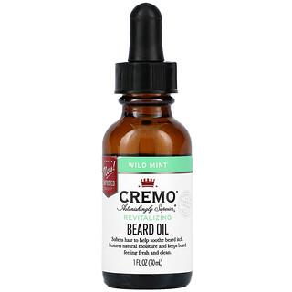 Cremo, Beard Oil, Wild Mint, 1 fl oz (30 ml)