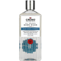 Cremo, All Season,沐浴露,4 號,藍雪松和柏樹,16 液量盎司(473 毫升)