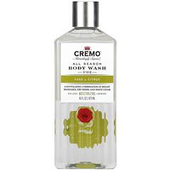 Cremo, All Season,沐浴露,2 號,鼠尾草和柑橘,16 液量盎司(473 毫升)