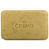 Cremo, Exfoliating Body Bar, No 8, Made with Shea Butter, Bourbon & Oak, 6 oz (170 g)