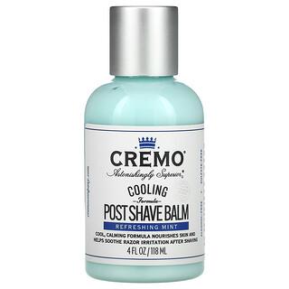 Cremo, Cooling Formula Post Shave Balm, Refreshing Mint, 4 fl oz (118 ml)