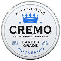 Cremo, 高級理髮師級,頭髮定型發泥,增厚,4 盎司(113 克)