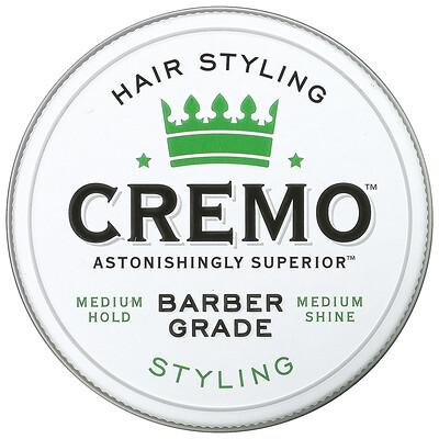 Купить Cremo Premium Barber Grade Hair Styling Cream, 4 oz (113 g)