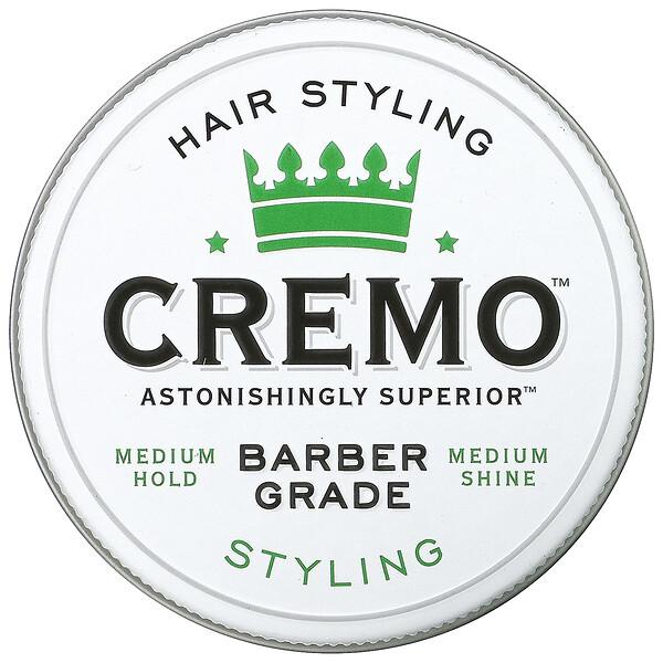Cremo, Premium Barber Grade Hair Styling Cream, 4 oz (113 g)