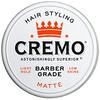 Cremo, Premium Barber Grade, Hair Styling Pomade, Matte, 4 oz (113 g)