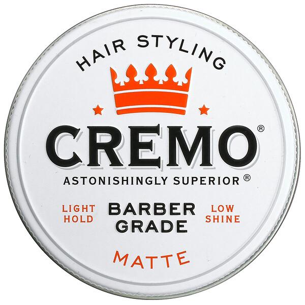 Premium Barber Grade, Hair Styling Pomade, Matte, 4 oz (113 g)