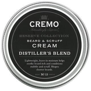 Cremo, Reserve Collection, Beard and Scruff Cream, Distiller's Blend, Reserve Blend, 4 oz (113 g)