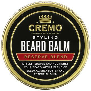Cremo, Styling Beard Balm, Reserve Blend, 2 oz (56 g)