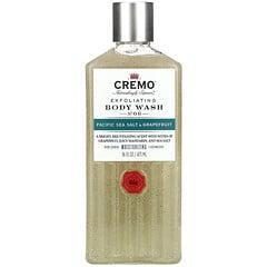 Cremo, 去角質沐浴露,6 號,太平洋海鹽和葡萄柚,16 液量盎司(473 毫升)