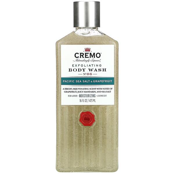 Exfoliating Body Wash,  No. 06, Pacific Sea Salt & Grapefruit, 16 fl oz (473 ml)