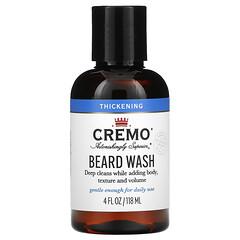 Cremo, 鬍鬚清洗液,增厚,4 液量盎司(118 毫升)