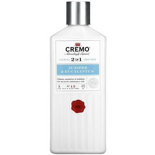 Cremo, 2 In 1 Shampoo & Conditioner,  No. 15, Junipers & Eucalyptus, 16 fl oz (473 ml)