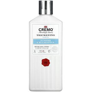 Cremo, Thickening Shampoo, No. 15, Juniper & Eucalyptus,  16 fl oz (473 ml)