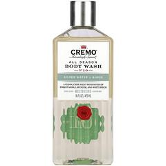 Cremo, All Season,沐浴露,10 號,銀離子水和樺木,16 液量盎司(473 毫升)
