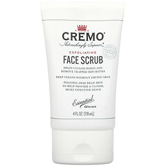 Cremo, 去角質面部磨砂,4 液量盎司(118 毫升)