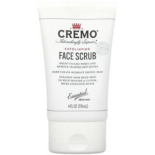 Cremo, Exfoliating Face Scrub, 4 fl oz (118 ml)