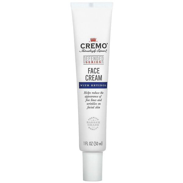 Defender Series, Face Cream With Retinol, 1 fl oz (30 ml)