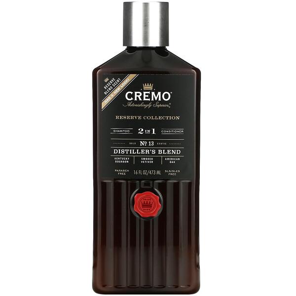 Reserve Blend, 2 In 1 Shampoo & Conditioner, No. 13, Distillers Blend, Reserve Blend, 16 fl oz (473 ml)