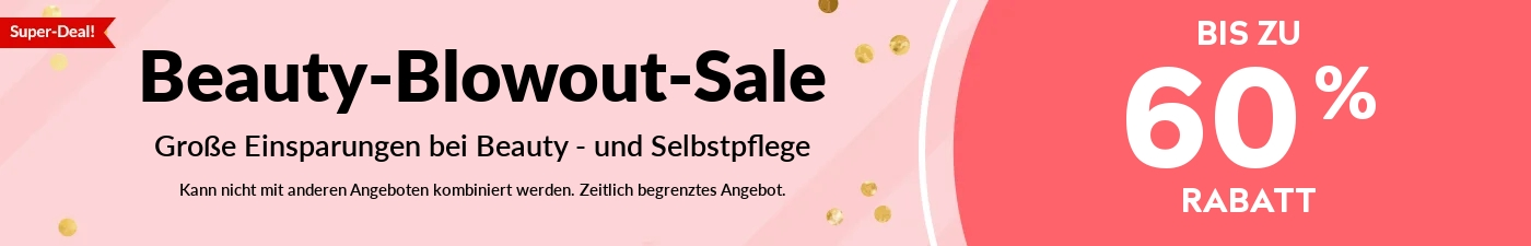 Beauty Blowout Sale