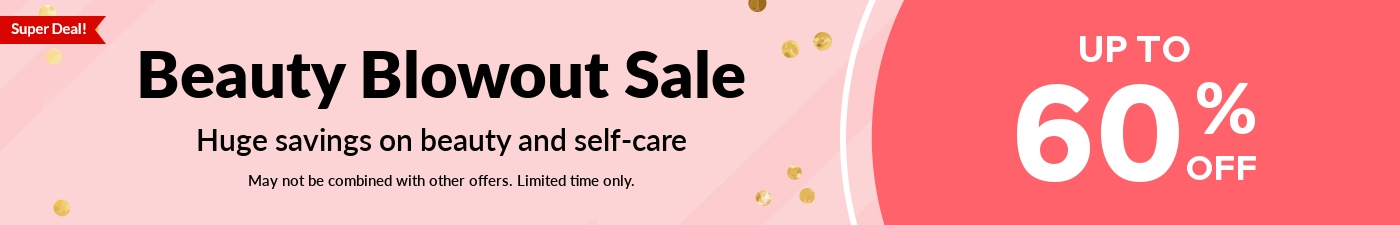 Beauty Blowout Sale