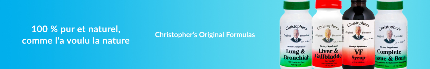 Christophers Original Formulas