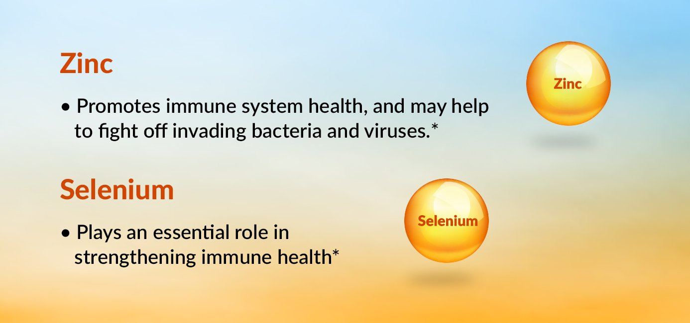 Zinc and Selenium