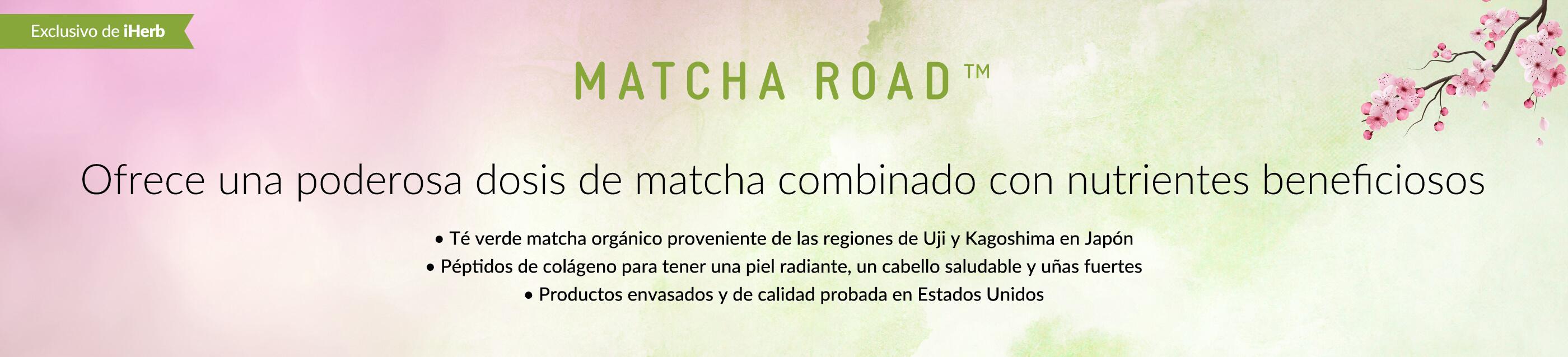 Matcha Road main banner