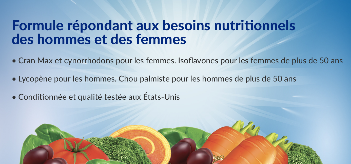 Ultamins Gender Specific Nutritional Needs