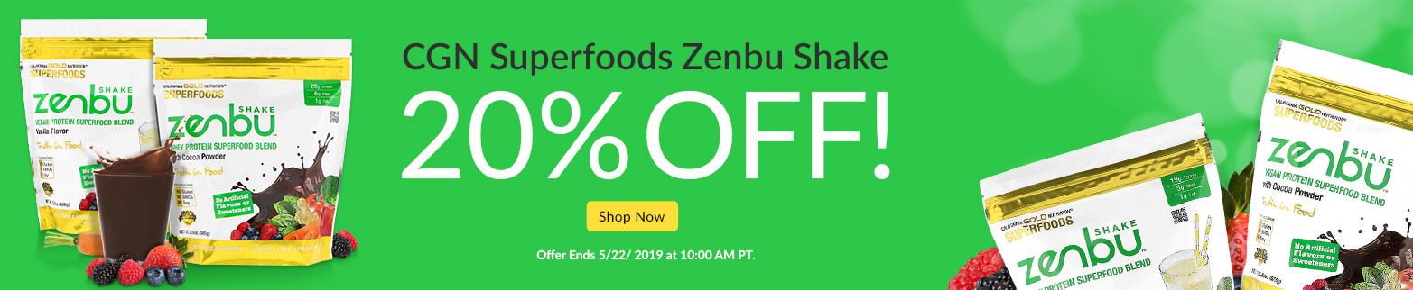 CGN Superfoods Zenbu Shake