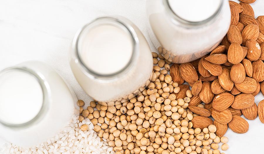 Sources of calcium: milk, nuts, grains