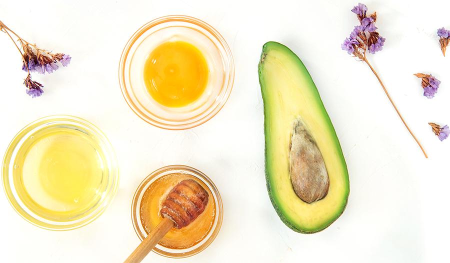 Honey, avocado, lavendar