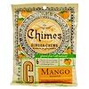 Chimes, قطع زنجبيل للمضغ، بالمانجو، 5 أونصات (141.8 جم)