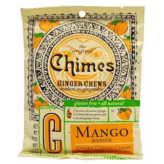 Chimes, Ginger Chews, Mango, 5 oz (141.8 g)