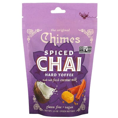 Купить Chimes Spiced Chai Hard Toffee, 3.5 oz (100 g)