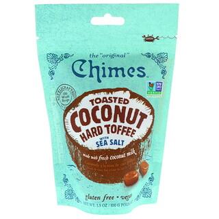 Chimes, こんがりココナッツのハードトフィ、海塩入り、100g(3.5 oz)