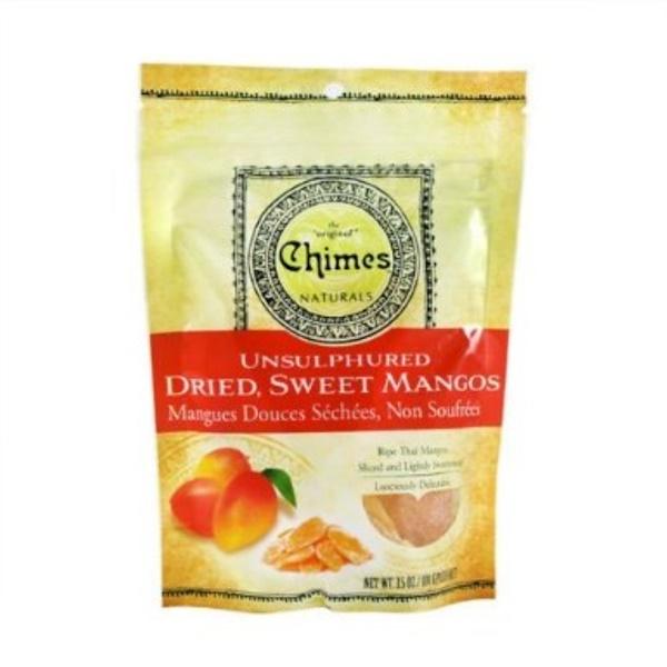 Chimes, Unsulphured Dried, Sweet Mangos, 3.5 oz (100 g) (Discontinued Item)