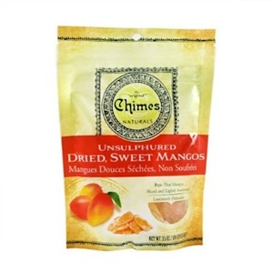 Чаймс, Unsulphured Dried, Sweet Mangos, 3.5 oz (100 g) отзывы покупателей