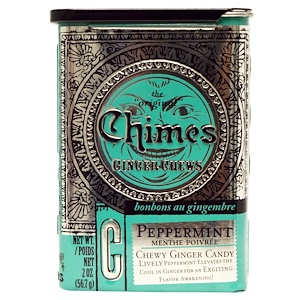 Чаймс, Ginger Chews, Peppermint, 2 oz (56.7 g) отзывы покупателей