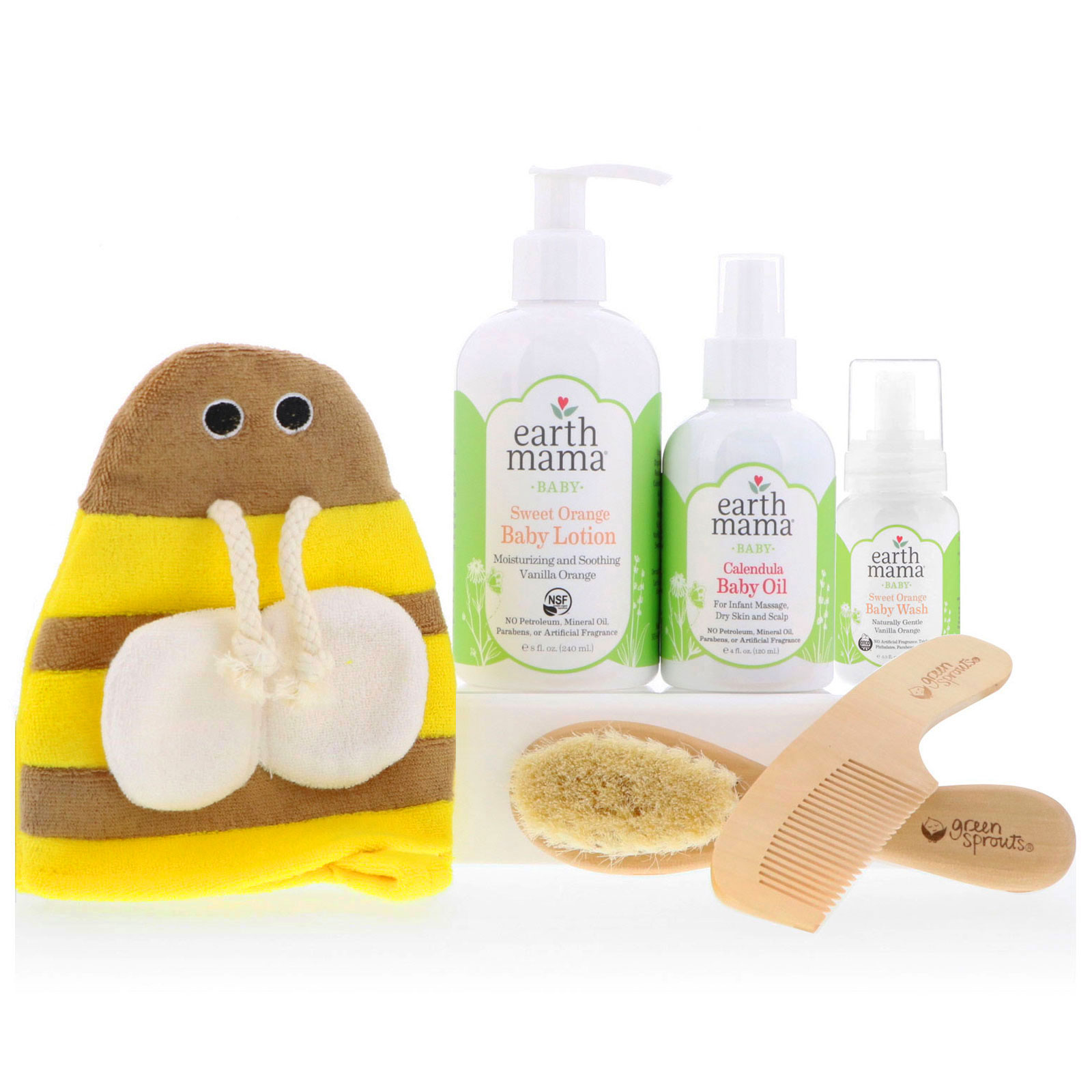 Natural Baby Bath
