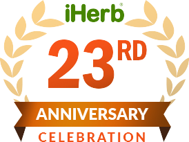 iHerb's 23rd Anniversary Celebration Logo
