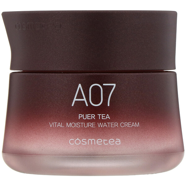 Cosmetea, Puer Tea, Vital Moisture Water Cream, 1.76 oz (50 g)