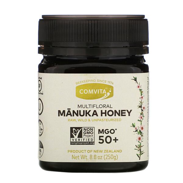 Multifloral Manuka Honey, MGO 50+, 8.8 oz (250 g)