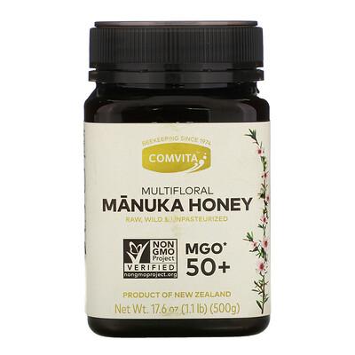 Купить Comvita Multifloral Manuka Honey, MGO 50+, 17.6 oz (500 g)